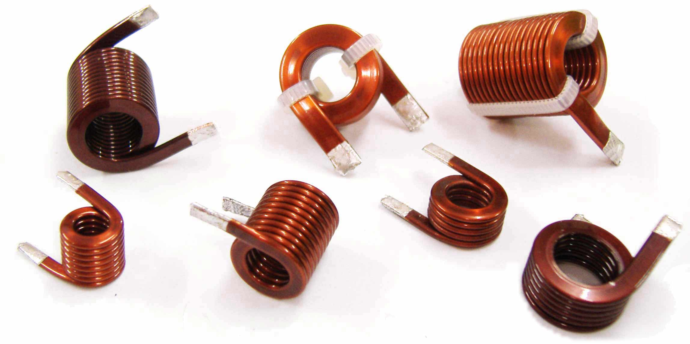 Helical coils, Flat coil windings